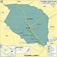 Caldwell County Map, North Carolina