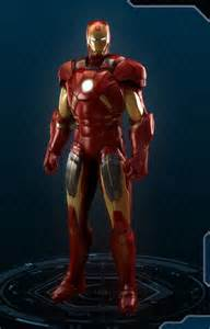 Marvel Heroes Iron Man Costumes