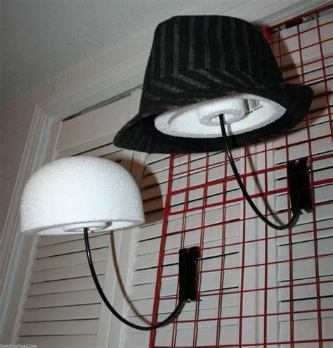 styrofoam display block hat cap store wig holder mannequin