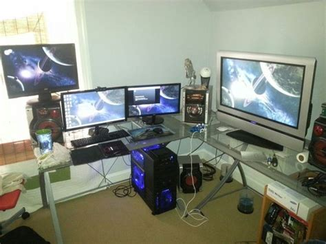 Modern Ligting In Cool Gaming Rooms Interior Design Ideas