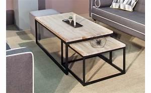 Table Bois Et Noir : location table basse cleveland et tables basses phiapa line ~ Dailycaller-alerts.com Idées de Décoration