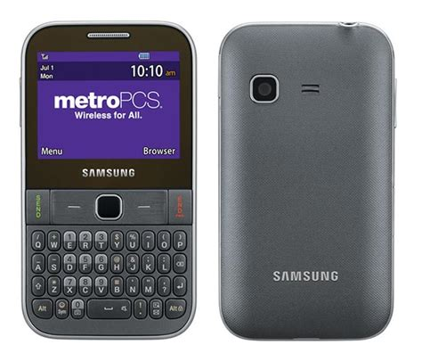 metro pcs phones coming soon qwerty equipped samsung freeform m coming to metropcs soon