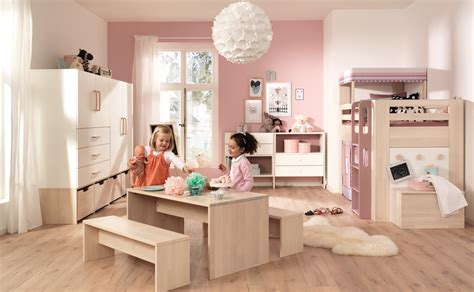 Kinderzimmer Farben Für Mädchen by Wellem 246 Bel Minimundo Komplett Kinderzimmer Birke Massiv