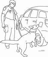 Coloring Drugs Dog Printable Drug Detection Dogs Line Drawings Designlooter 41kb 2700px 2239 Own Vehicle sketch template