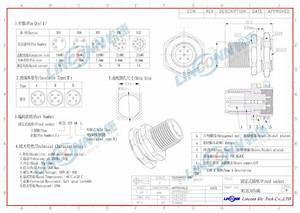 Waterproof Connector Ip67 Ip68 M8 M12 3 4 5 8 12 Pin Circular Connector