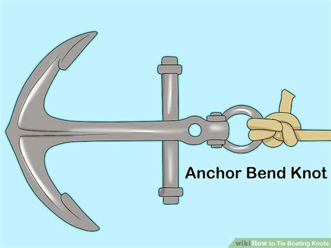 Boat Anchor Knot by 5 Ways To Tie Boating Knots Wikihow