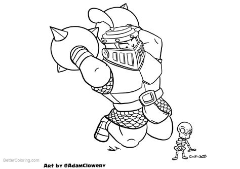 Clash Royale Kleurplaat Ijstovenaa by Clash Royale Coloring Pages By Adam Clowery Free
