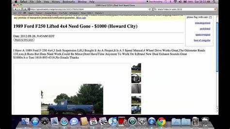 craigslist grand rapids michigan  cars  sale