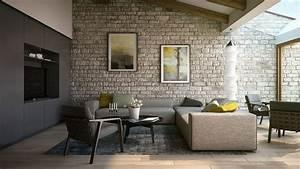 Wohnzimmer Wand Steine : steinwand wohnzimmer eine dekorative wand voller charakter und stil ~ Sanjose-hotels-ca.com Haus und Dekorationen