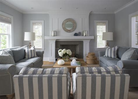 Blue Gray Paint In Living Room by Blue And Gray Living Room Cottage Living Room