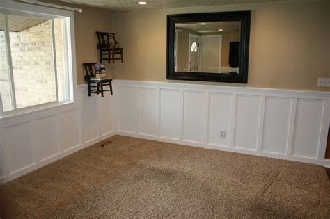 Cool Board And Batten Wainscoting Come With White Stained