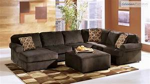 Vista chocolate living room collection from signature for Ashley furniture vista chocolate sofa sectional