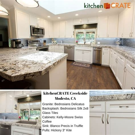 kitchencrate creekside in modesto uses granite