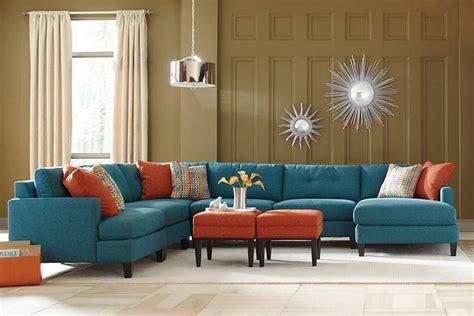 teal color custom sectional sofa    usa los angeles