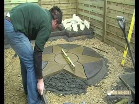 Living Stone Guides  How To Lay A Patio  Youtube