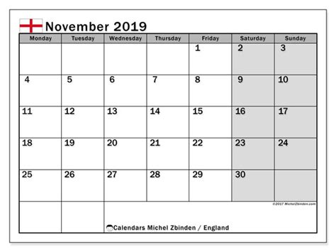 november calendar england uk michel zbinden en