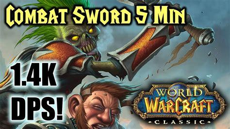 rogue wow classic sword dagger combat bis dps gear 4k