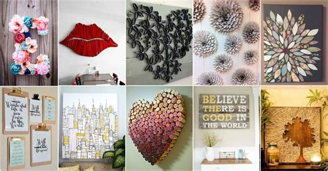 All you need are four small pots from the dollar or craft store, a long piece of twine, and crystal (or something else heavy and decorative for the bottom. 20 DIY Innovative Wall Art Decor Ideas That Will Leave You Speechless