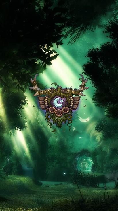 Warcraft Druid Wow Iphone Wallpapers Blizzard Legion