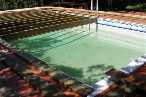 Flooring Over Pool   Regal Tent Productions