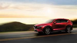 2017 Mazda CX 5 Red Crystal Color On Beach Driving 4k Wide