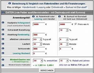 Monatsrate Berechnen : autokredit ballonfinanzierung auto wann sinnvoll rechner ~ Themetempest.com Abrechnung