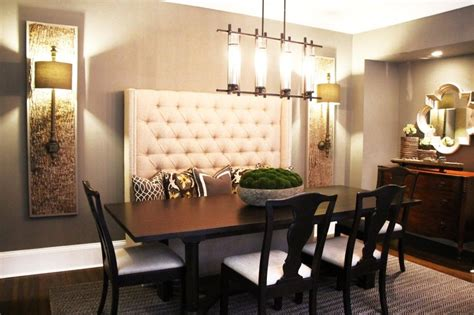 Kitchen Table Upholstered Bench by Image Result For High Back Bench Seat Dining Kitchen