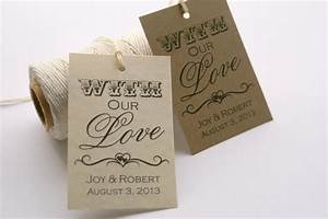9 best images of wedding favor tags printable template With wedding favor tags template free