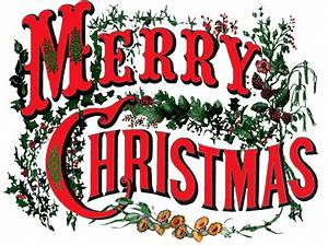 Merry Christmas Vintage Circus Style transparent PNG ...
