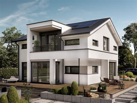 Designhaus Mit Satteldach  Einfamilienhaus Conceptm 166