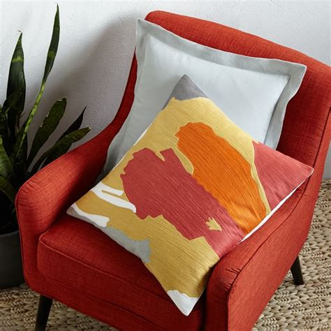 west elm pillows the new beachy modern tropical decor on the rise
