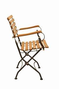 Gartenstuhl Mit Liegefunktion : gartenstuhl klappstuhl wien mit armlehne metall und eukalyptus ~ Indierocktalk.com Haus und Dekorationen