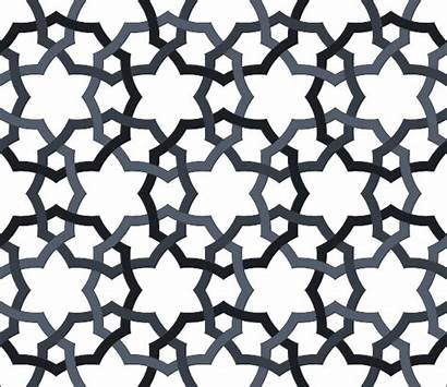 Pattern Oriental Repeating Clipart Interlaced Clip زخارف