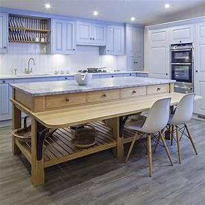 free standing kitchen islands with breakfast bar