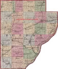 Fulton County Illinois Map