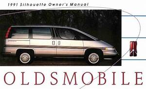 1991 Oldsmobile Silhouette Owners Manual User Guide