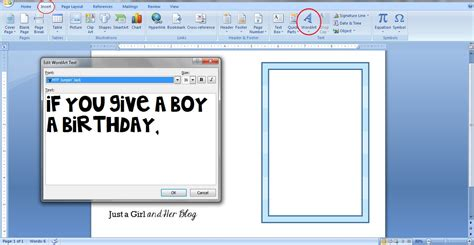 birthday card template microsoft word 2007 how to make your own invitations abby lawson