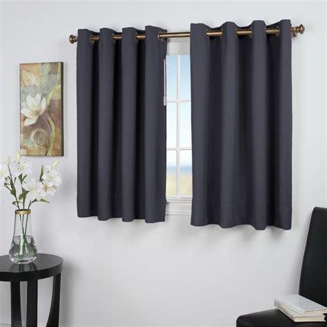 45 inch length curtains shop ultimate blackout 45 inch length grommet