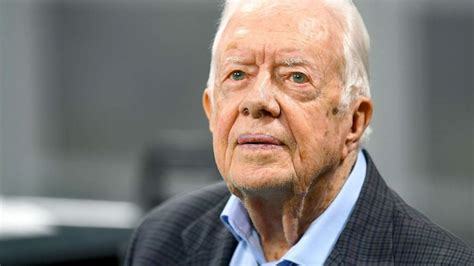 Jimmy Carter requires 14 stitches after fall at home ...