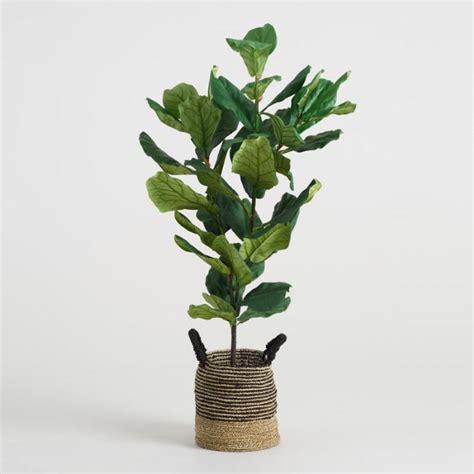 indoor plant food faux fiddle leaf fig plant market