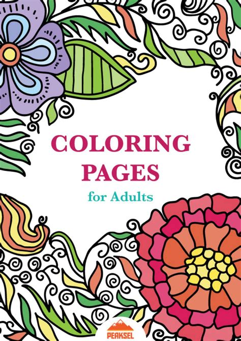 Coloring Book Pdf by Coloring Pages For Adults Free Coloring Book By