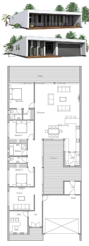 minimalist house design floor plan  concepthomecom