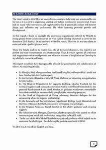 Internship Acknowledgement Report