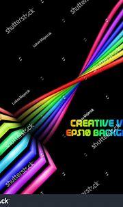 Abstract Rainbow 3d Swirl Background Stock Vector ...