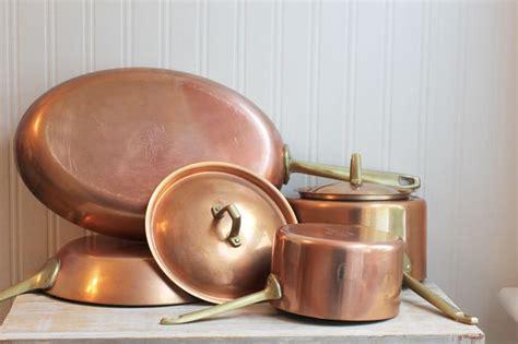 pc paul revere limited edition copper pots pans  mollyfinds