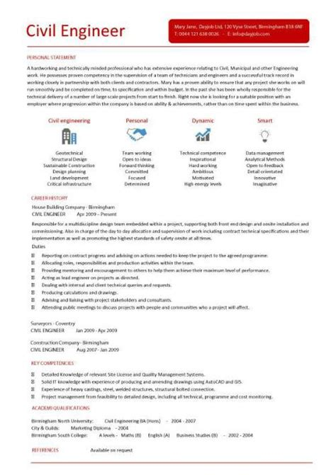 Curriculum Vitae Of Civil Engineer by Civil Engineering Cv Template Structural Engineer Highway Design Construction