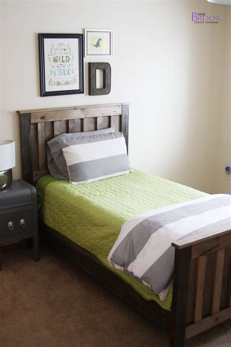 Ana White Kentwood Bed Diy Projects