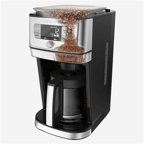 A coffee grinder is a must for every household that enjoys home brewed coffee on a daily basis. Cuisinart Next Generation Burr Grind and Brew Coffee Maker - DGB-800C    The Brick