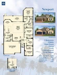 floor plans for one story homes sun city center newport model ta new homes fl minto