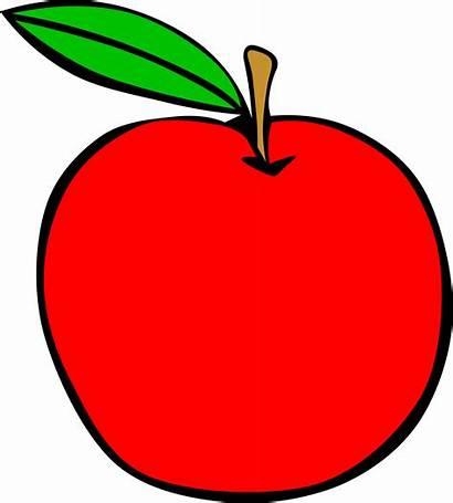 Apple Fruit Clip Simple Clipart Transparent Pdf